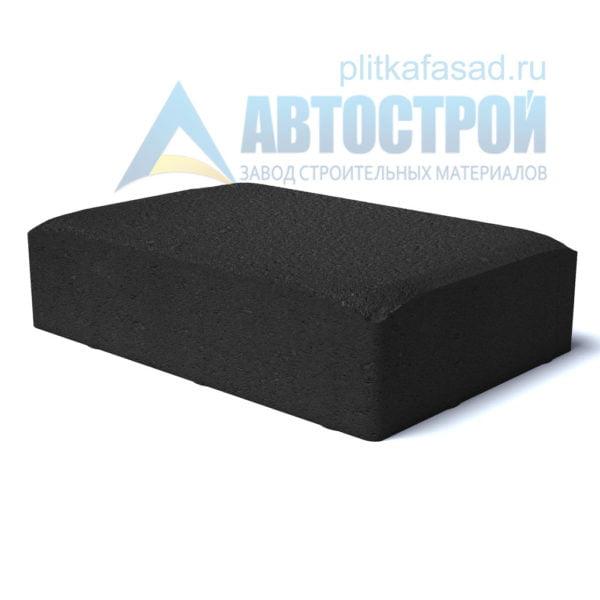 Тротуарная плитка «Английский булыжник большой» 16х24см толщиной 40мм черная