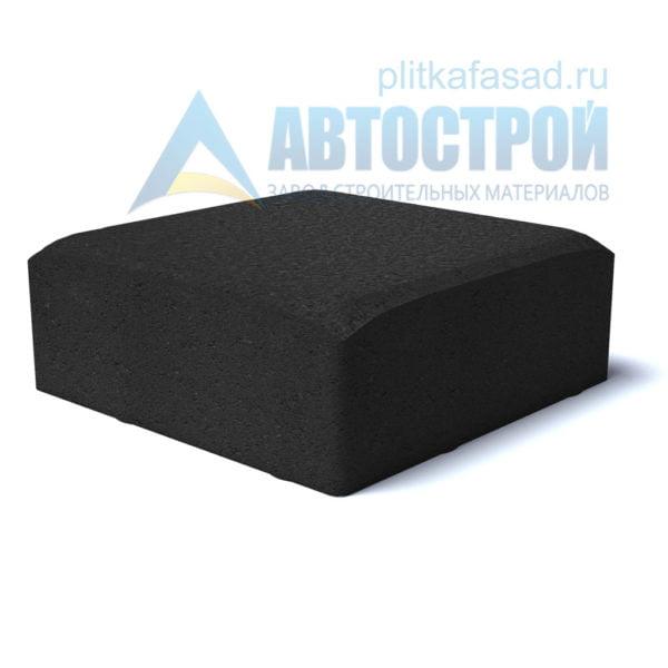 Тротуарная плитка «Английский булыжник малый» 16х16см толщиной 40мм черная