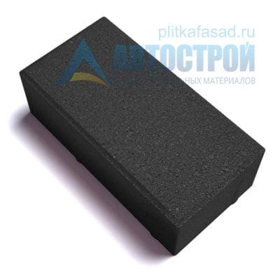 """Тротуарная плитка """"Голландский кирпич"""" 10х20 см толщиной 70мм черная"""