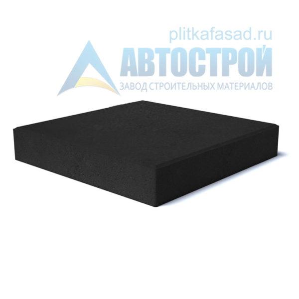 """Тротуарная плитка """"Квадрат"""" 30х30см толщиной 40мм черная"""