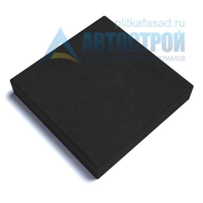 """Тротуарная плитка """"Квадрат"""" 30х30см толщиной 60мм черная"""