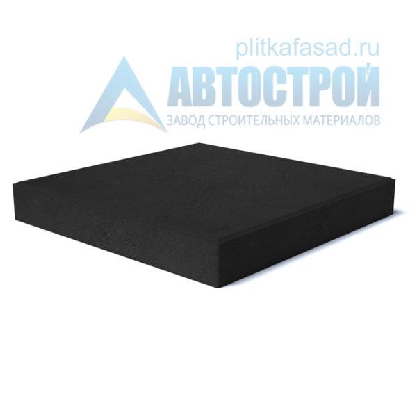 """Тротуарная плитка """"Квадрат"""" 50х50см толщиной 70мм черная"""