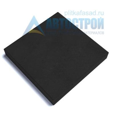 """Тротуарная плитка """"Квадрат"""" 50х50см толщиной 80мм черная"""