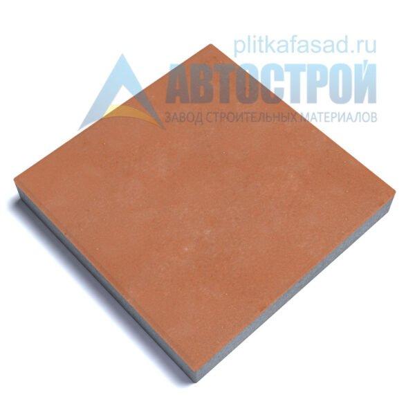 """Тротуарная плитка """"Квадрат"""" 60х60см толщиной 60мм оранжевая"""