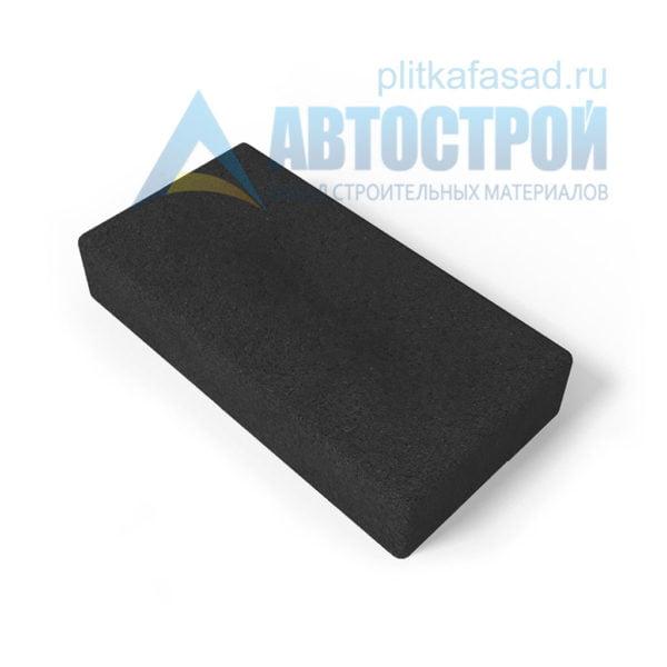 Тротуарная плитка 30х15см толщиной 80мм черная
