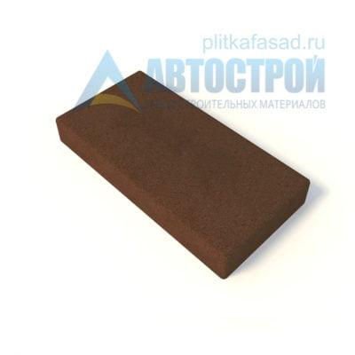 Тротуарная плитка 60х30см толщиной 80мм коричневая