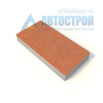 Тротуарная плитка 60х30см толщиной 80мм оранжевая