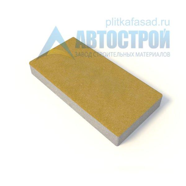 Тротуарная плитка 60х30см толщиной 60мм желтая