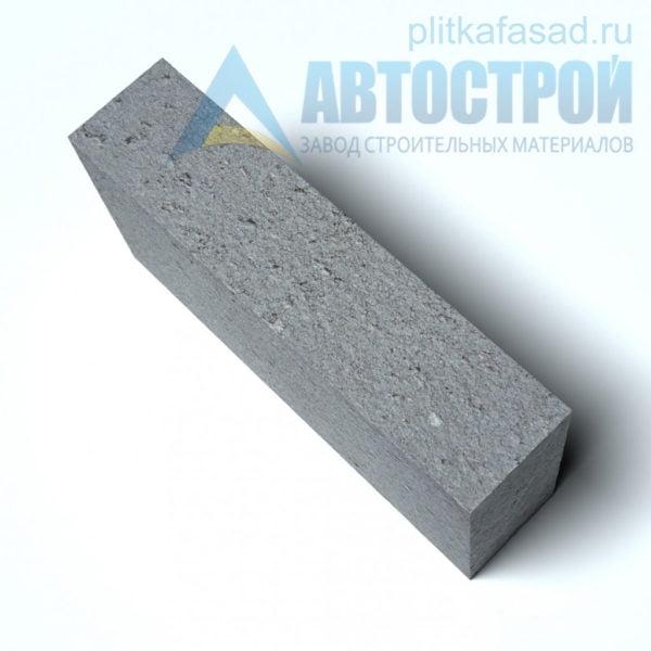 Блок керамзитобетонный для перегородок КПР-ПР-39-50-F25-1600 (СКЦ-3РК-80) 80x188x390мм полнотелый