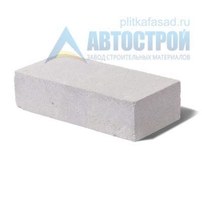 Кирпич бетонный стеновой полнотелый белый