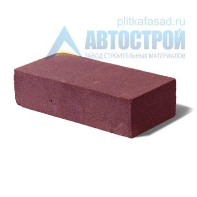 Кирпич бетонный стеновой полнотелый красный