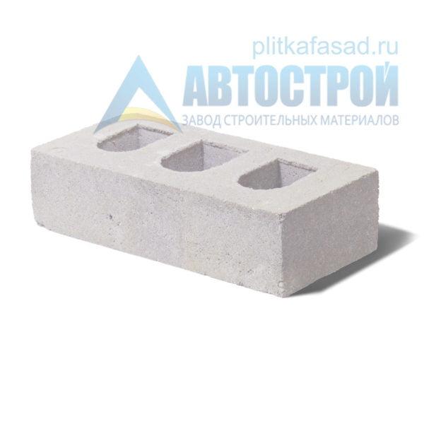 Кирпич бетонный стеновой пустотелый белый