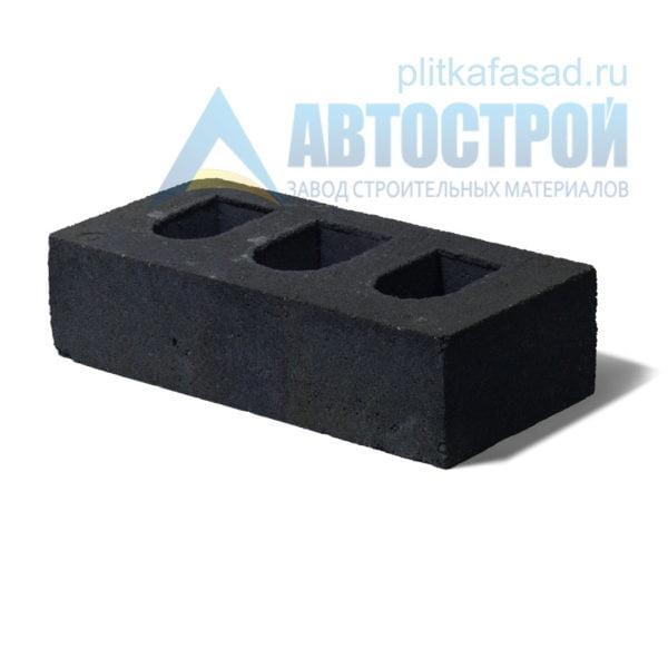 Кирпич бетонный стеновой пустотелый черный