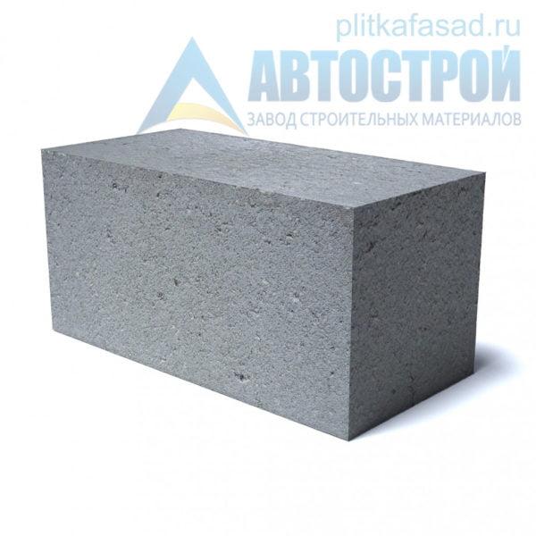 Блок бетонный фундаментный КСР-ПР-39-150-F75-2200 (СКЦ-1ПЛП) 190х190х390мм полнотелый