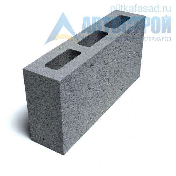 Блок для перегородок СКЦ-3Л-80 90х188х390 мм пустотелый